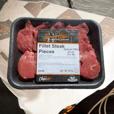 Simon Howie Fillet Steak Pieces