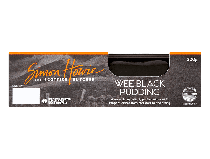 Simon Howie Wee Black Pudding