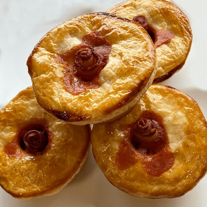 Bacon & Beans Breakfast Pie