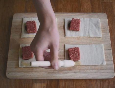 Square Sausage Rolls
