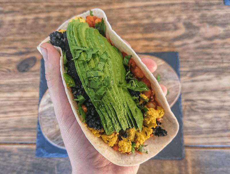 Rab's Veggie Breakfast Tacos