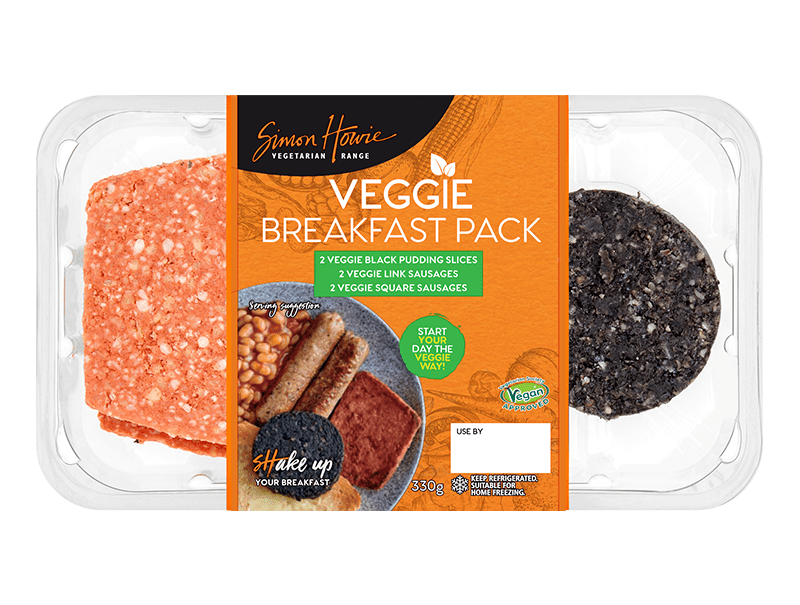 Simon Howie Veggie Breakfast Pack