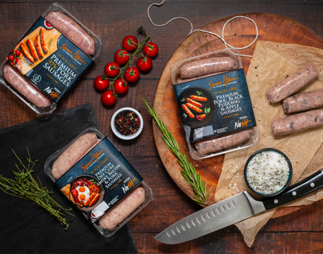 Simon Howie Premium Black Label Sausages