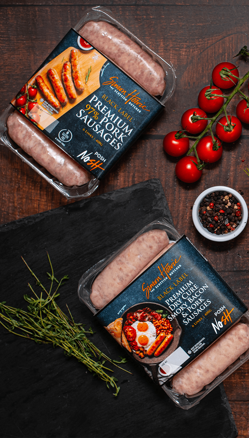 Simon Howie Black Label Sausages