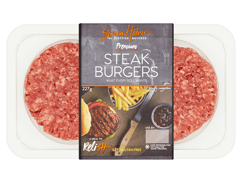 Simon Howie Premium Steak Burgers