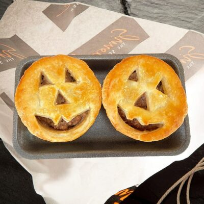 Spooky Halloween Scotch Pies