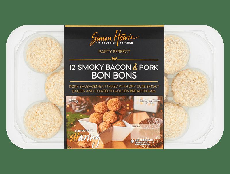 Smoky Bacon & Pork Bon Bons 240g