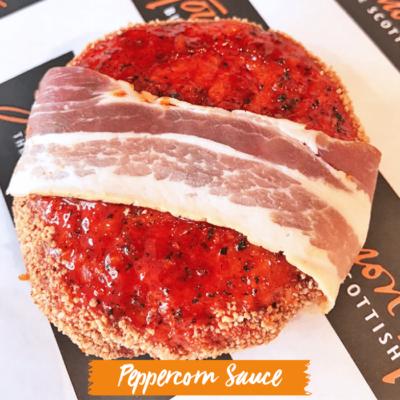 Peppercorn Sauce Burger Bomb - No Pastry