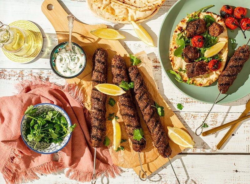 Haggis Kebabs