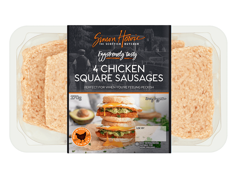 Chicken Square Sausages