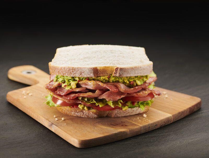 Notorious BLT & Guacamole Sandwich