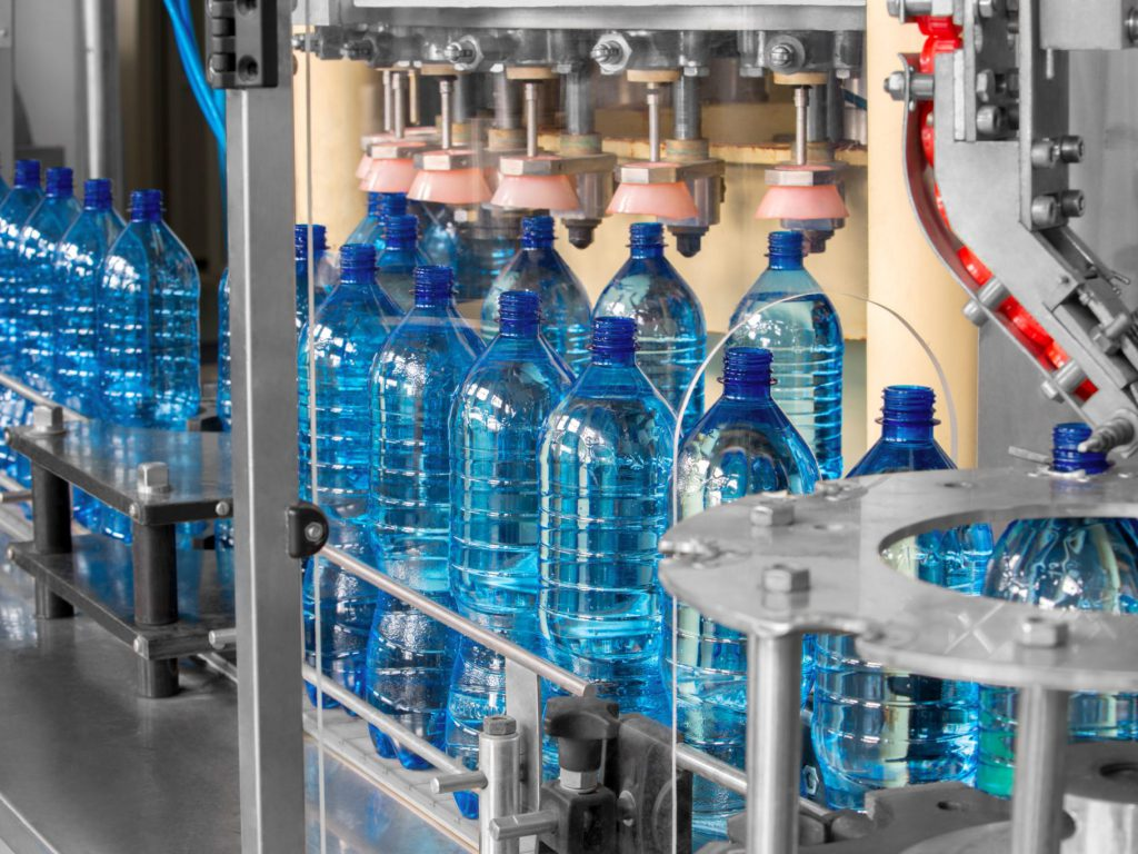 Image result for water bottle production line