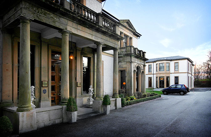 PHOTOGRAPHY OF NORWOOD HOUSE HOTEL AFTER EXTENSION BUILT.PICTURES SIMON PRICE