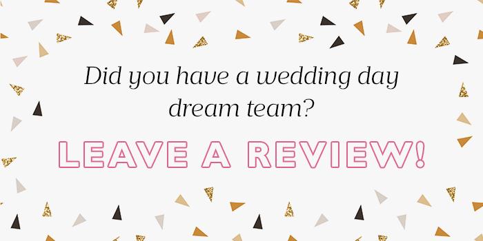 Scottish wedding reviews