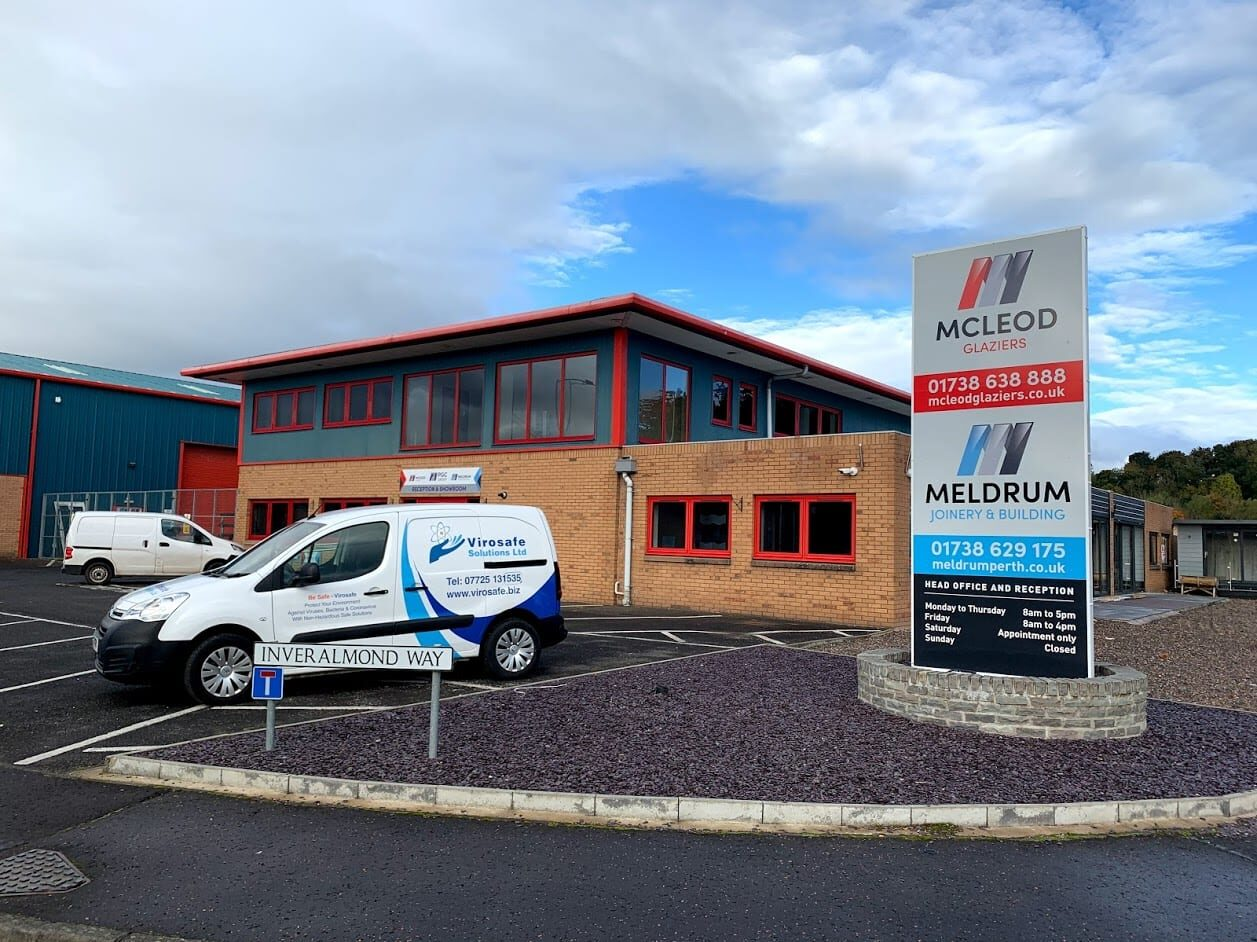 McLeod Glaziers are happy to work with Virosafe Solutions