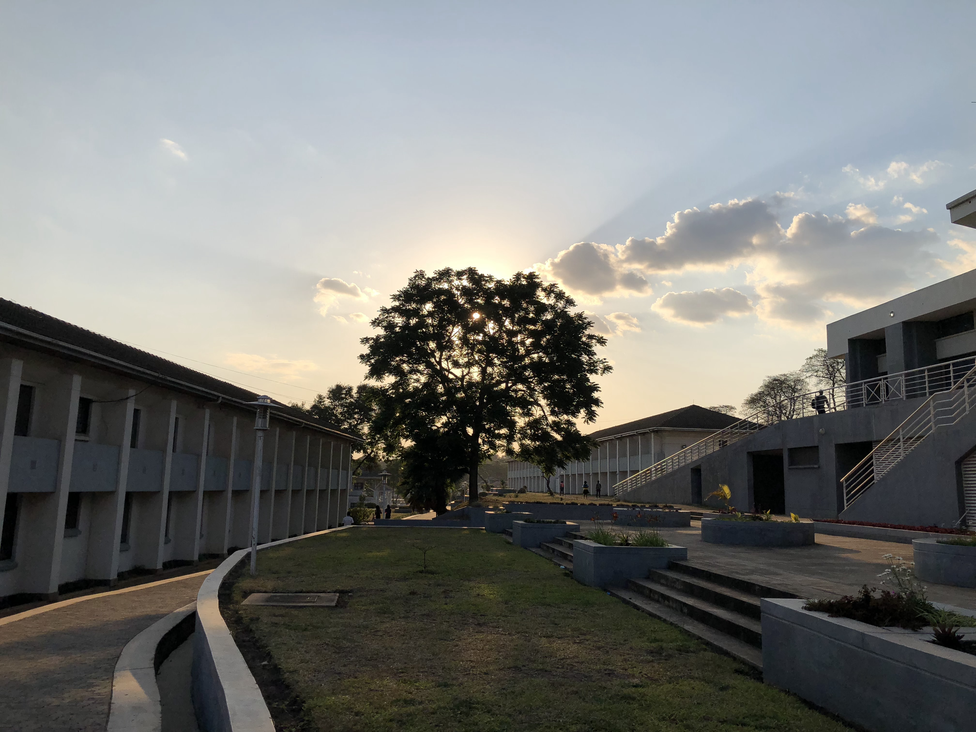 View of the College of Medicine Campus, Malawi.