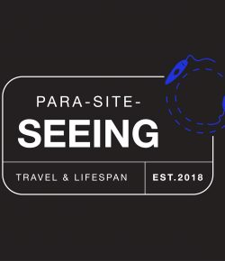 The title banner for Para-site-seeing.