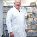 Dr Kevin Read at The Drug Discovery Unit at The University of Dundee. © Sophie Gerrard