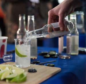 public engagement brings gin and tonic to fight malaria