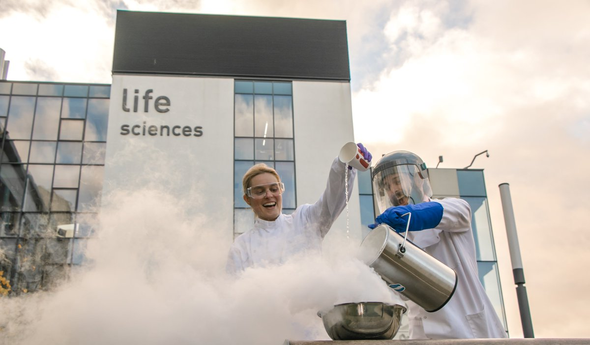 Liquid nitrogen ice cream as part of our public engagement