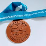 Medal for completing the Bronze route of the Great Glen Challenge