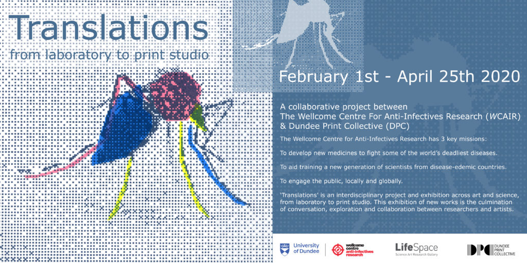Translations Art Science Exhibition Poster