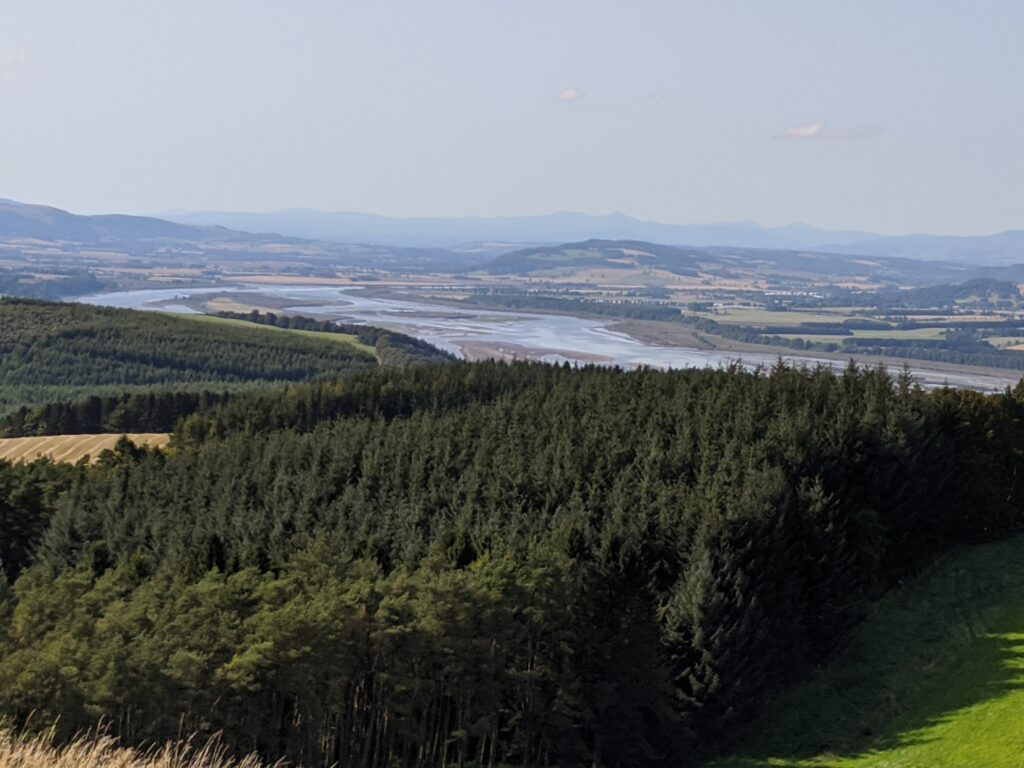 View towards Perth from Norman's Law