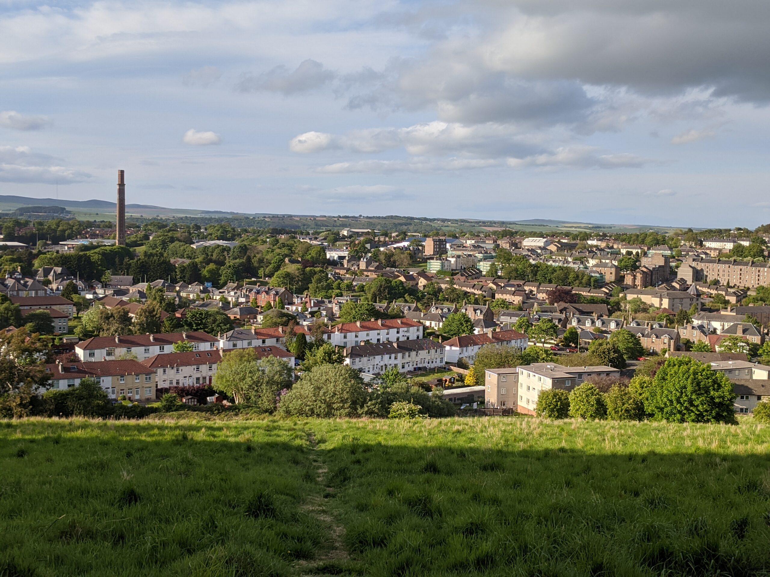 Lochee from Balgay Hill