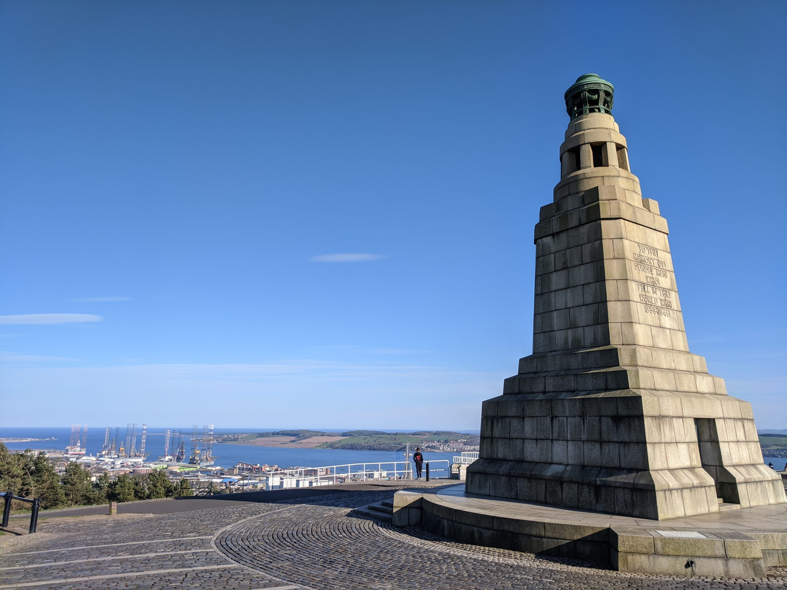 The War Memorial on The Law, Dundee