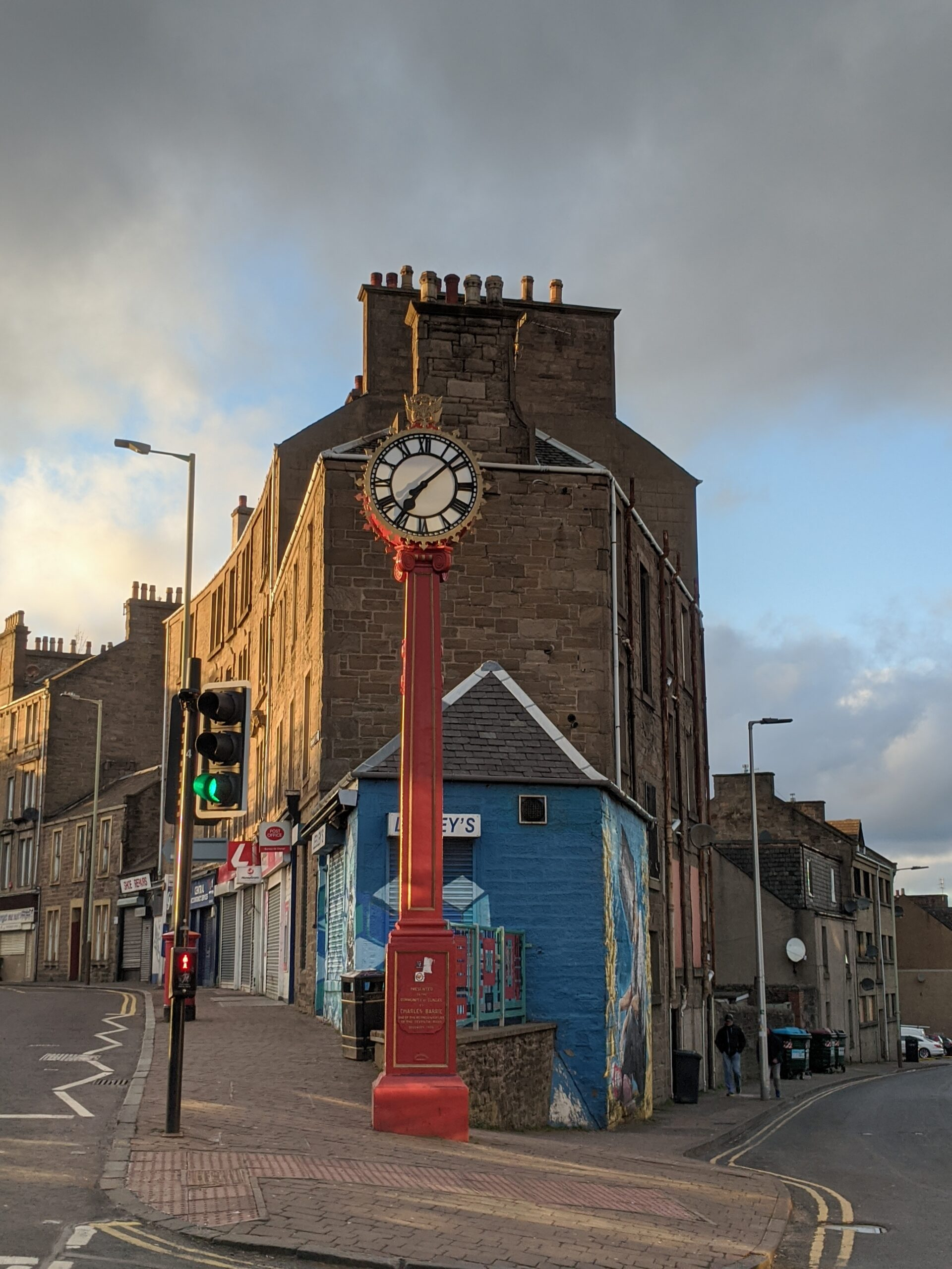 Hilltown clock