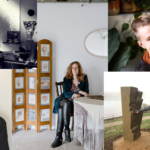 Portraits of artists Emily Fong, Natalie Ryan, Pascale Pollier, Kit Kusenok and Annie Catrell